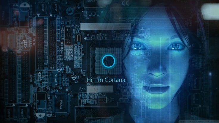 Cortana Windows 10 Wallpaper by ToxicFlint.deviantart.com on @DeviantArt