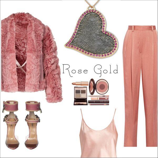 Anastazio-rose gold. Outfit Idea 2017