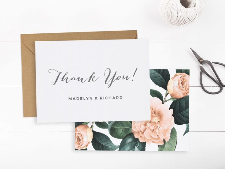 18 best Wedding thank yous images on Pinterest Card patterns - wedding thank you note