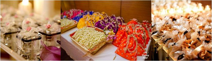 A funfilled mehendi & wedding celebration with loads of fun, laughter and beaming faces in a colourful traditional decor worth a capture.  Beautiful Jaipuri potlis with lovely traditional colours & pearl handle. Elegant silver coin boxes with pretty satin ribbons. Stunning wedding charms with ribbons & pearls.  Check out their services on the link below...http://www.superduperweddings.com/ #Mehndifavours #WeddingFavour #Indianmehendi #Loveforcolours #Traditionalmehendi