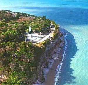 The foremost point of all Americas is in Joao Pessoa, Paraiba, Brazil. #João Pessoa - Paraíba - Brasil. O paraíso é aqui!