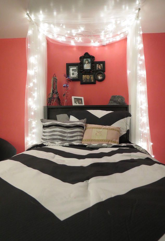 Cool Beds For Teen Girls Inspiration 25 Best Teen Girl Bedrooms Ideas On Pinterest  Teen Girl Rooms . Decorating Design