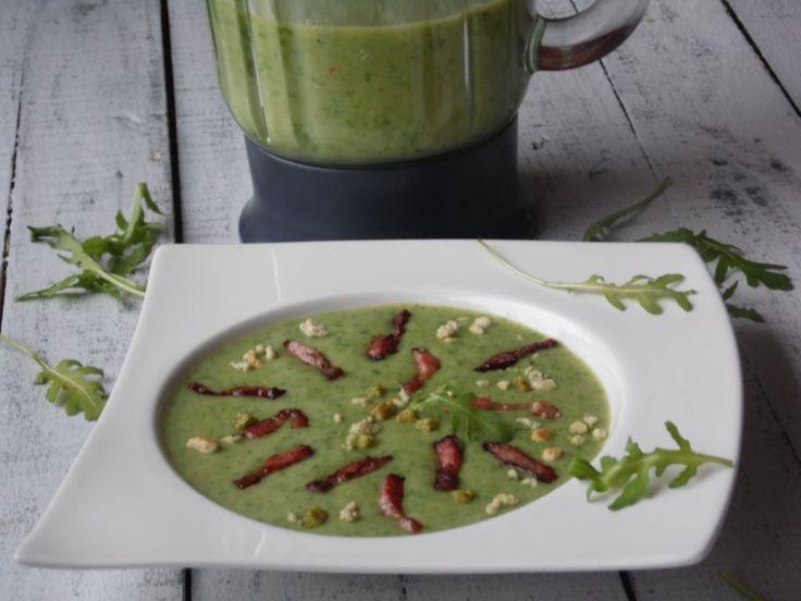 Zupa krem z rukoli