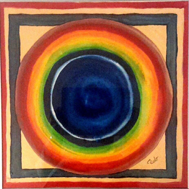 Aquarell gemalt von Udo Weskamm