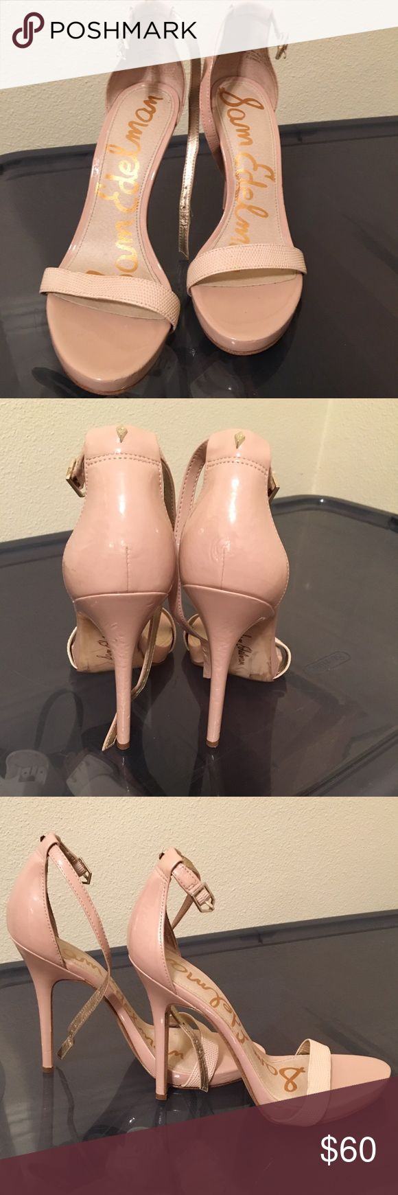 Sam Edelman heels Nude sam Edelman heels, bought from another posher and they are too small. Size 8.5 Sam Edelman Shoes Heels