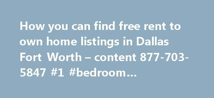 free listing of homes for rent