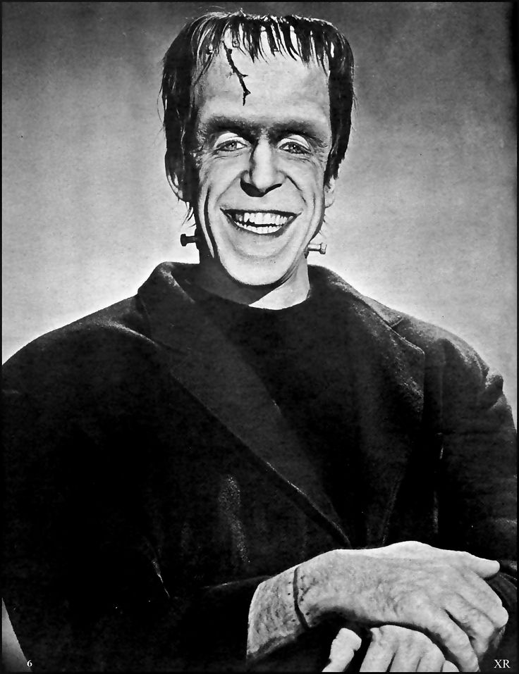 "https://flic.kr/p/xcMra8 | 1965 ... happy Munster! | Fred Gwynne as Herman Munster of ""The Munsters"""