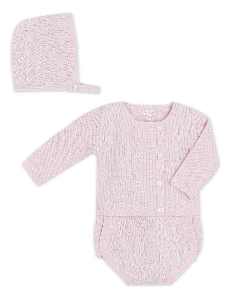 Conjunto em Rosa para recém-nascido (0-9 meses)|Gocco  - Tienda oficial Gocco