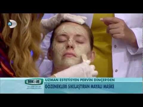 Cildi güzelleştiren maya maskesi - YouTube
