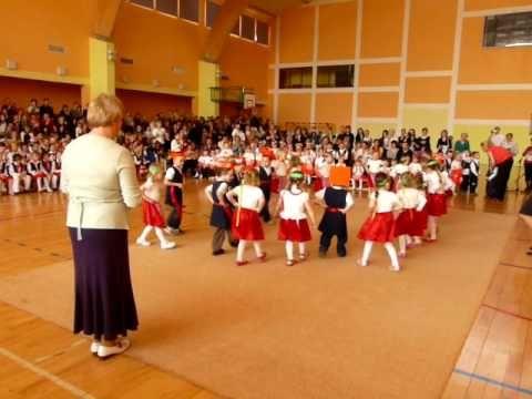 Krakowiaczek - YouTube - dance performed by children