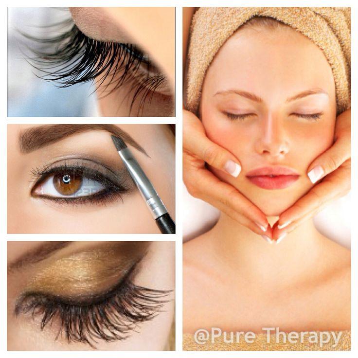 Holistic facial/eye treatment package