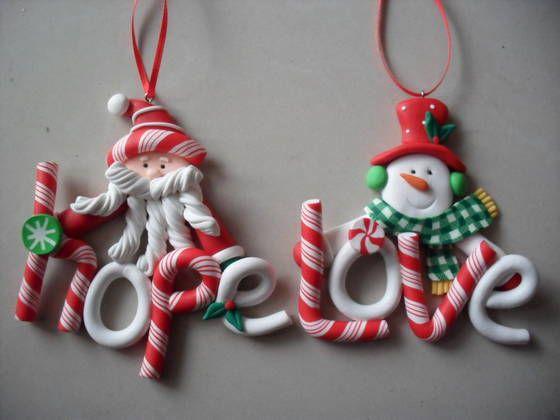 polymer clay christmas - Buscar con Google
