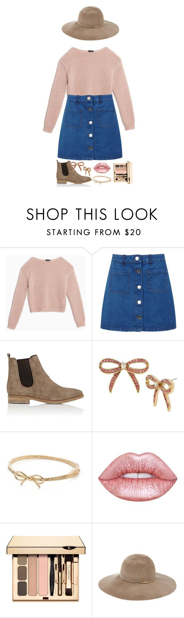 """i could wear outfits like this forever"" by b-pearl ❤ liked on Polyvore featuring Max&Co., Miss Selfridge, Barneys New York, Betsey Johnson, Kate Spade, Lime Crime and Eugenia Kim"