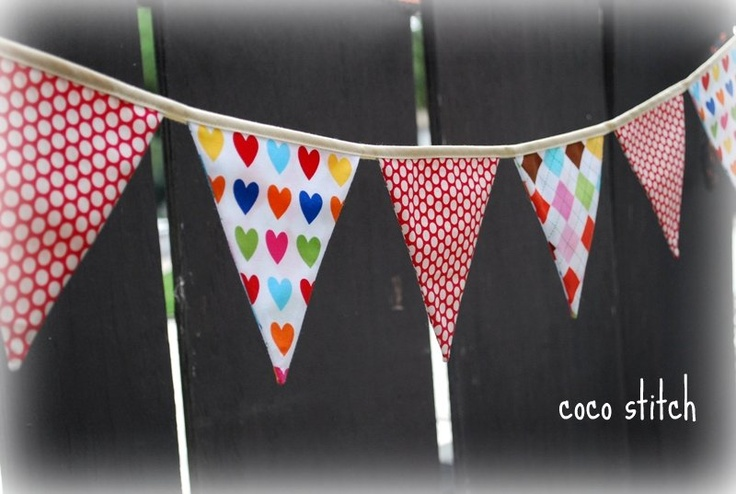 Bunting - cute patterns
