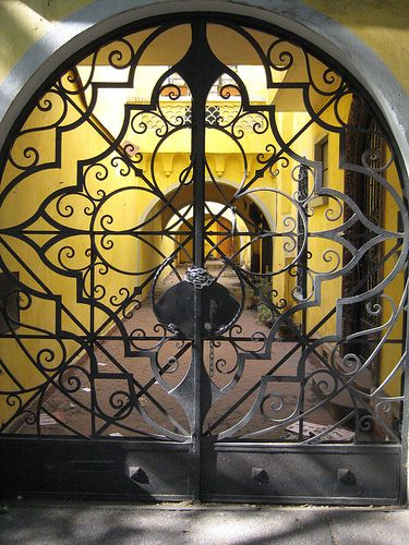 Images about wrought iron door on pinterest