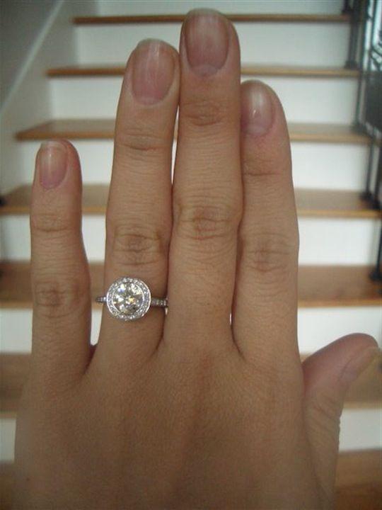 Real Ritani Engagement Rings