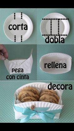 Galletitas para compartir!! Buena idea para mesas de dulces