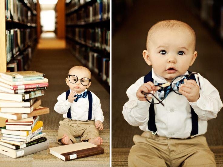 Jill Witt Photography Blog: Mason 6 Month Nerd/Jock Themed Photoshoot