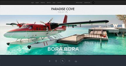 Paradise Cove - Ultra Modern Responsive WordPress Theme for Hotels