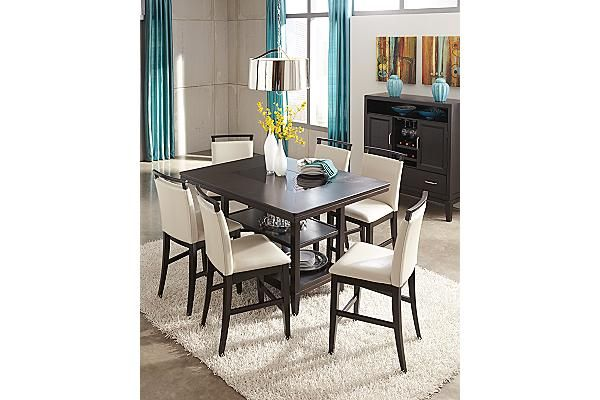 The Trishelle Counter Height Dining Table from Ashley  : 4eba0e4e3c9c1b25ed98cd4a94cb20b9 from www.pinterest.com size 600 x 400 jpeg 39kB