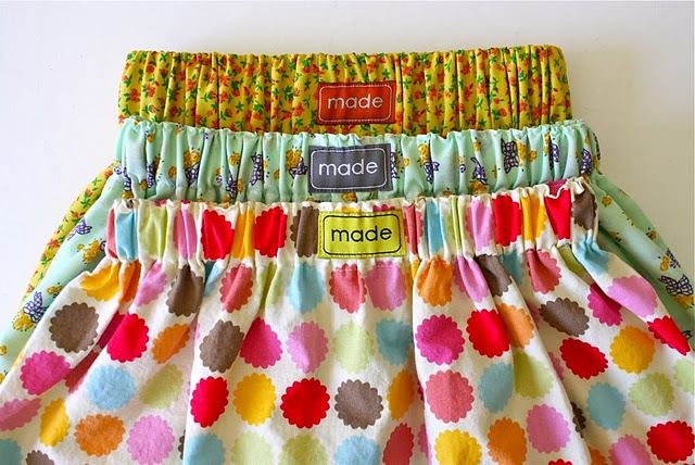 Cute skirt tutorial could be altered for an adult
