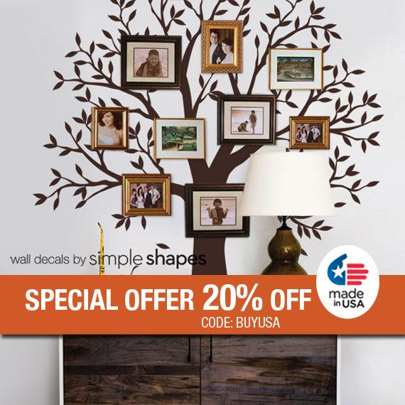Best Simple Shapes Customer Photos Images On Pinterest - How to put up a tree wall decal