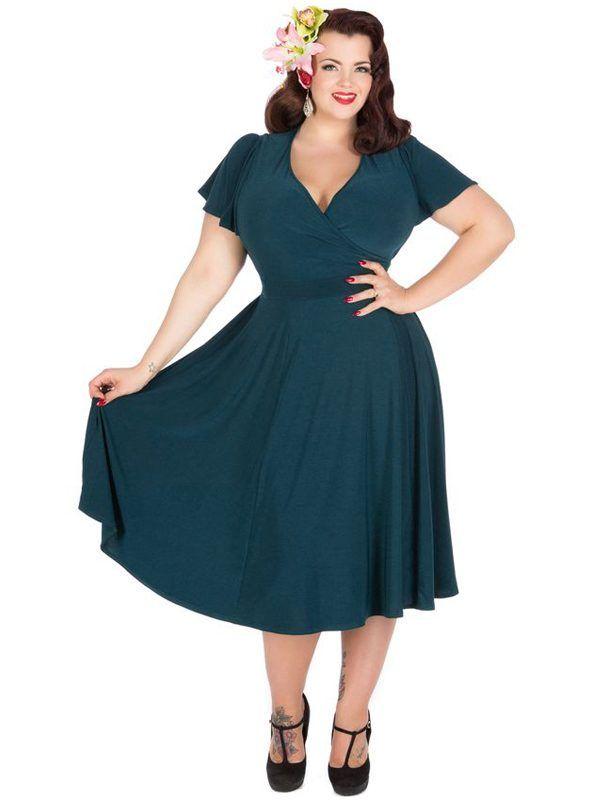 Plus size 40 s dress 80s