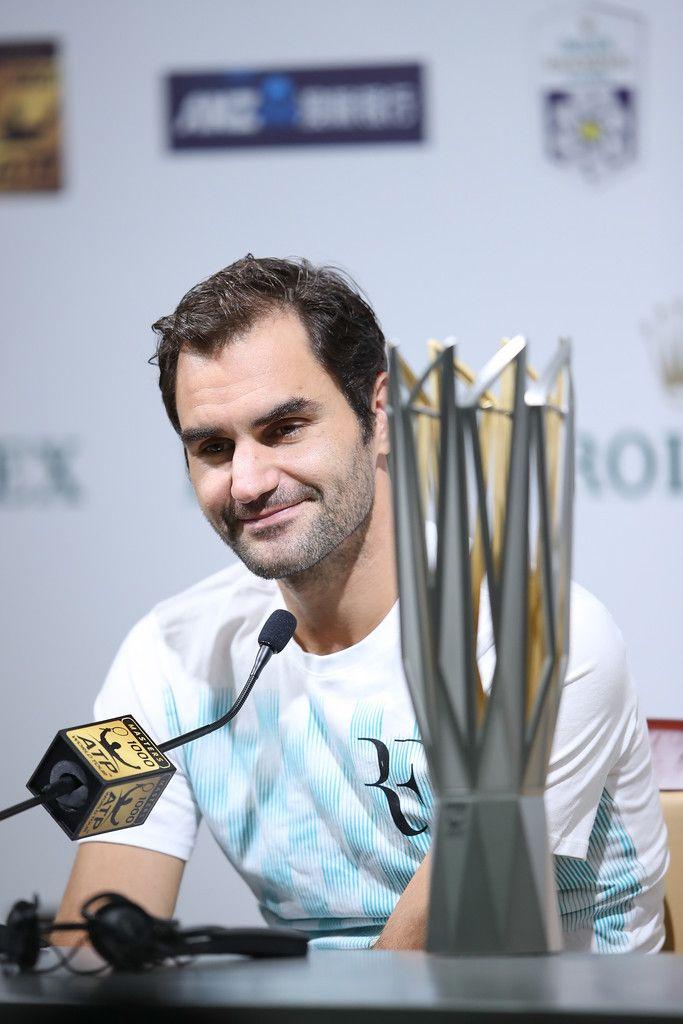 Roger Federer - 2017 ATP 1000 Shanghai Rolex Masters - Day 8 press conference #RogerFederer #ShanghaiRolexMasters #pressconference