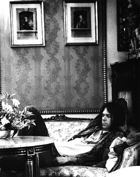 Neil Young, Copenhagen 1974  Gijsbert Hanekroot