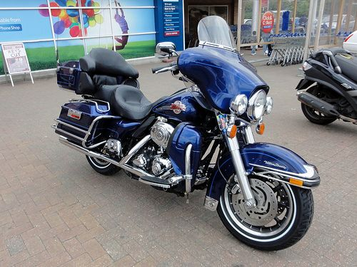Harley-Davidson Ultra Classic Motorcycle  Image by Maxwell Hamilton   #Classic #HarleyDavidson #Motorcycle #ultra