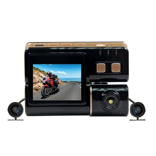 720P 2inch Motorcycle Camcorder HD 120 Degree ATV Video Recorder