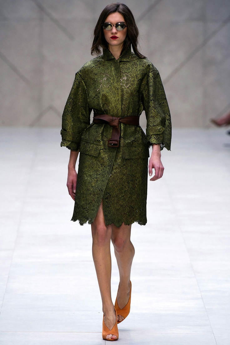 COUTE QUE COUTE: BURBERRY PRORSUM SPRING/SUMMER 2013 WOMEN'S COLLECTION