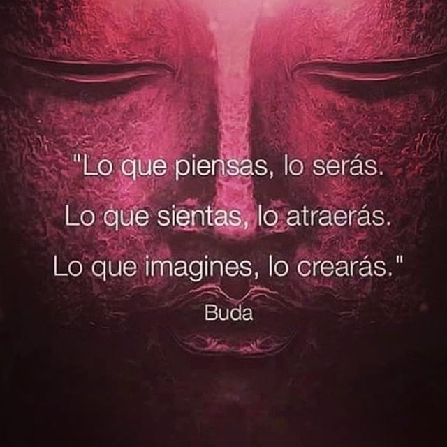 Lo que piensas, lo serás. Lo que sientas, lo atraerás. Lo que imagines, lo crearás. #pensamientospositivos #like4like #happy #imagination #sentir #imagination #imaginacion #pepelanau #buda #budha