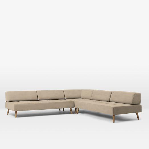 Best Retro Tillary® 8 Piece Sectional Retro Sofa Sofa Retro 400 x 300