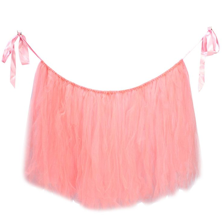 Pink 80*100cm Tulle Tutu Table Skirt Wedding Birthday Baby Shower Tableware Decoration Cheap - NewChic