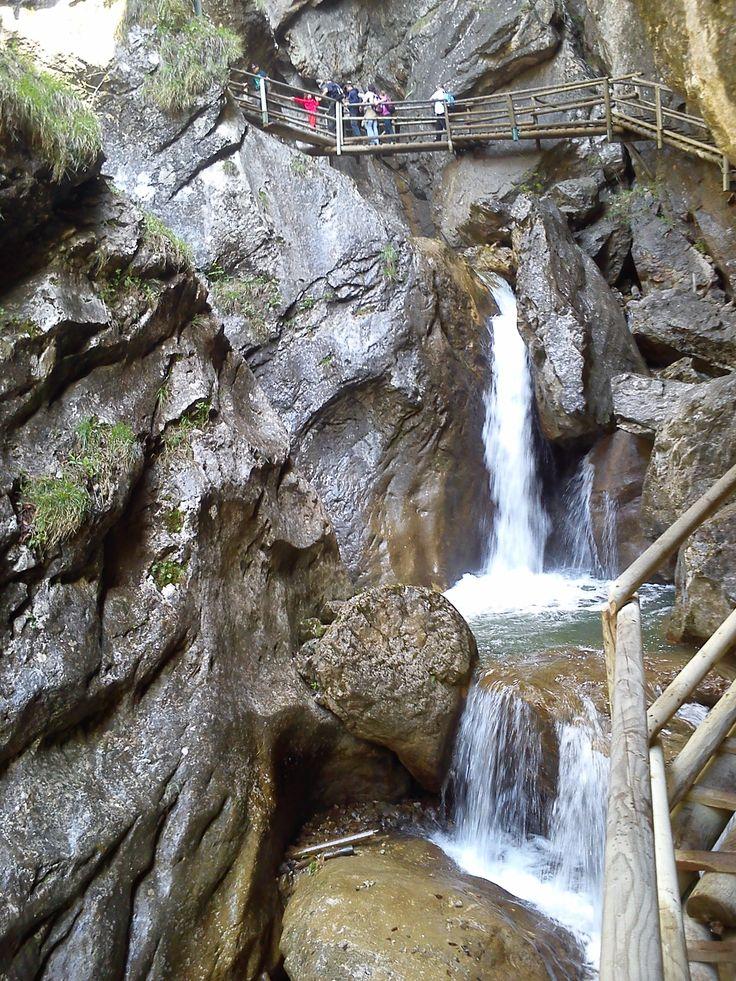 Austria - Mixnitz, Bärenschützklamm, waterfall