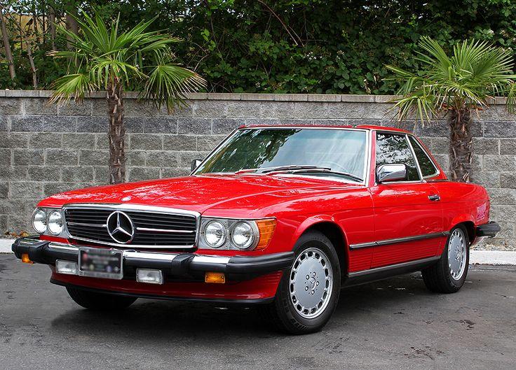 mercedes 560 sl   1986 Mercedes 560SL   CLASSIC CARS TODAY ONLINE