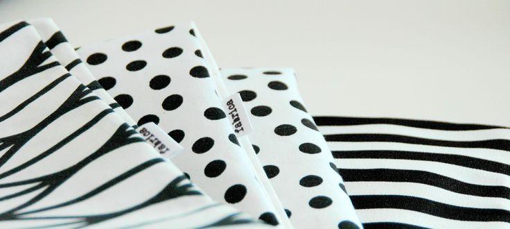 monochrome cushion cover