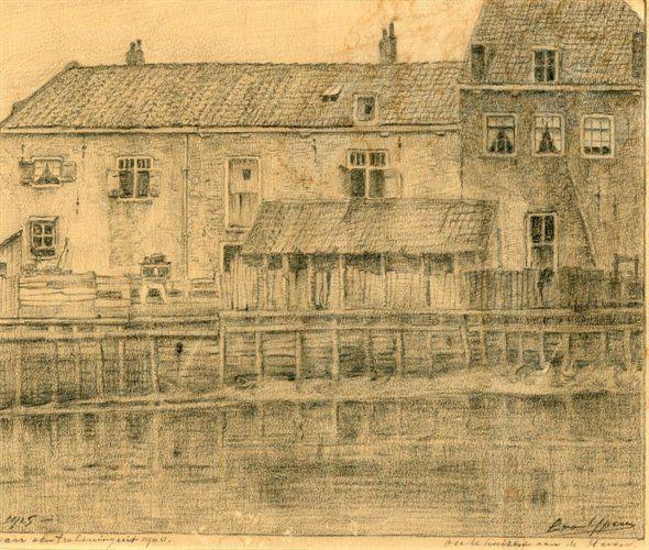Geschiedenis van Vlaardingen - 'Oude huizen aan de Haven'