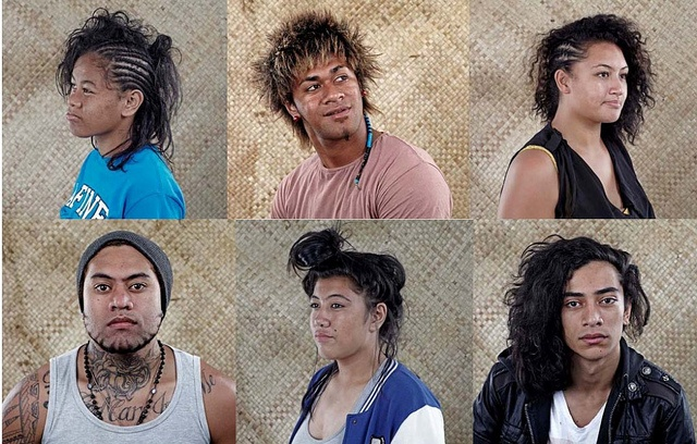 "Fab project - The Polyfest Hair Project (2012), photography by Vinesh Kumaran, for the exhibition ""WWJD"" curated by Ema Tavola at Fresh Gallery Otara by Colour Me Fiji, via Flickr"