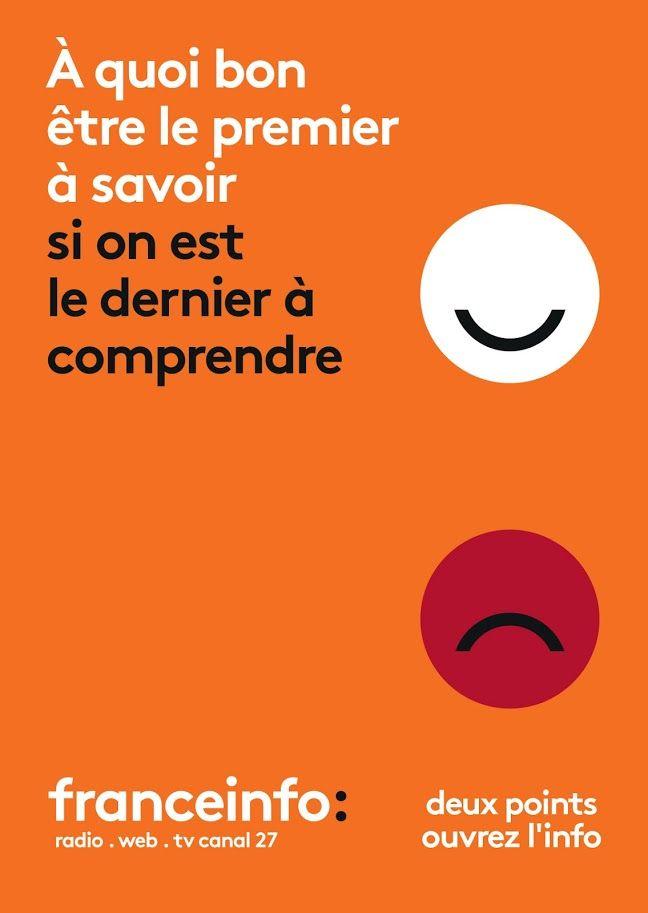 ad/pub sur la nouvelle chaîne France Info (2016)