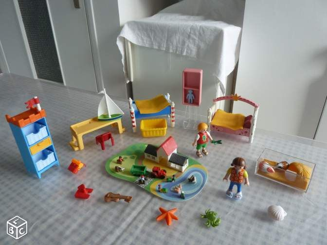 Gallery of chambre des enfants playmobil with playmobil chambre des parents - Chambre parents playmobil ...