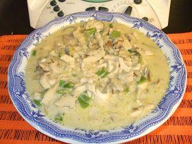 As minhas aventuras com a Bimby: Peitos de frango cremosos com feijão-verde
