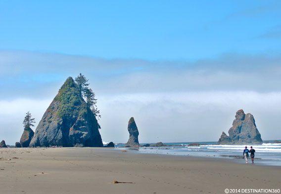 Washington Beaches - Ruby Beach - Ocean Shores