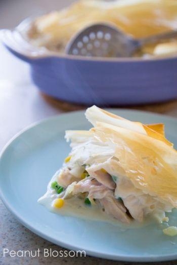 Lighter Chicken Pot Pie | Peanut Blossom: The perfect easy freezer ...
