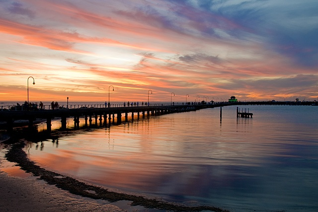 St Kilda Pier, Melbourne... Nathan Kaso