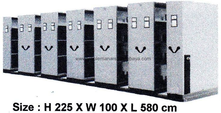 Mobile File Brother MFB-12 BS 22 (60 Compartments)