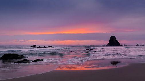 Sunrise at Cemetery Beach, Narooma, NSW, Australia
