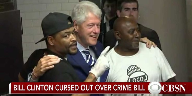 VIDEO: Former President Bill Clinton Cursed Out At Campaign Stop