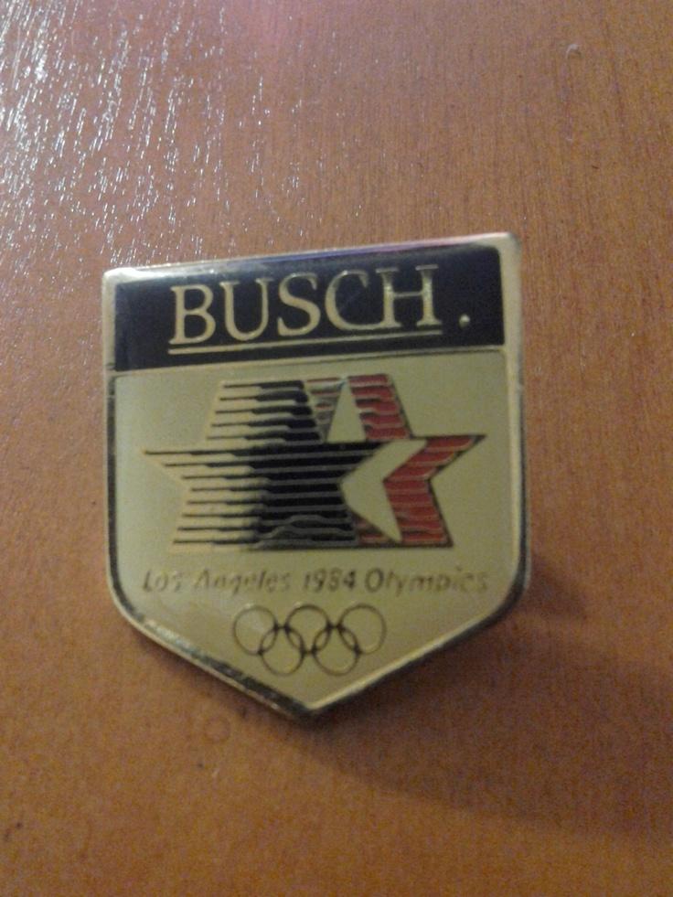 Busch 1984 LA Olympic Pin